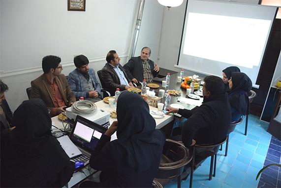 جلسه ارائه فاز اول طرح توسعه روستاهای سیور و علی آباد