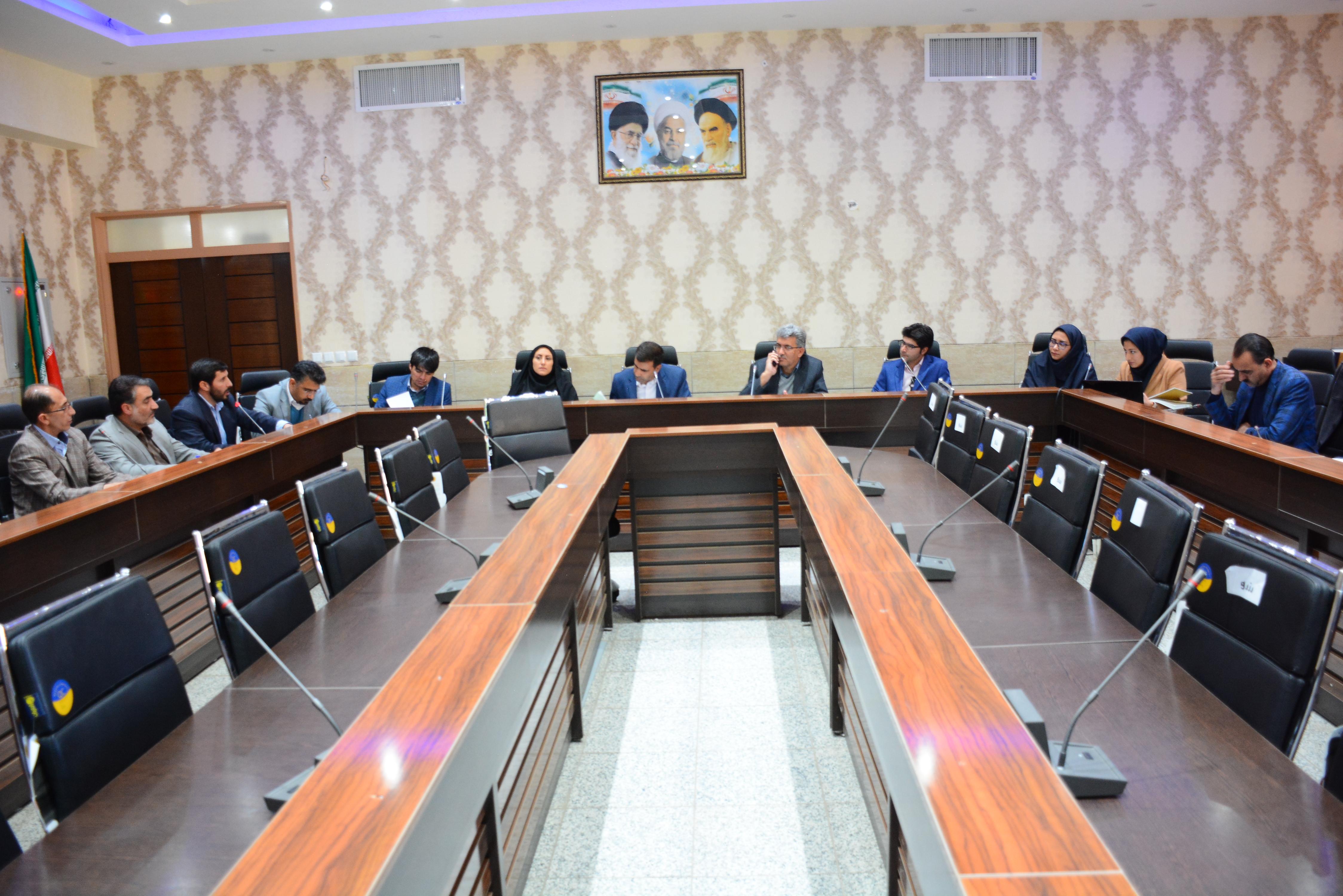 جلسه هماهنگی طرح توسعه روستای سیور و علی آباد