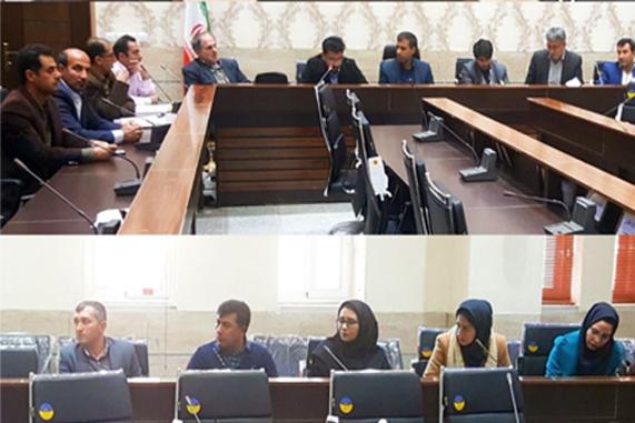 جلسه هماهنگی طرح توسعه روستاهای سیور و علی آباد